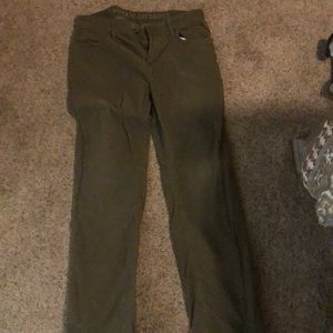 American eagle corduroy pants - olive color